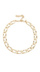 Vanessa Mooney The Lucy Choker Necklace Gold