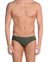 Dondup Bikini Bottoms Dark Green