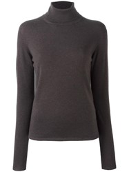 Iris Von Arnim Turtleneck Pullover Brown