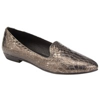 John Lewis Collection Weekend By Gema Loafers Pewter Metallic