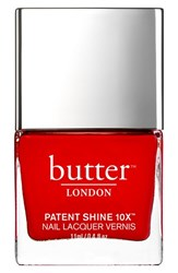 Butter London 'Patent Shine 10X' Nail Lacquer Her Majestys Red
