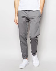 United Colors Of Benetton Slim Fit Chinos Grey