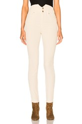 Etoile Isabel Marant Farley High Waisted Jeans In Neutrals