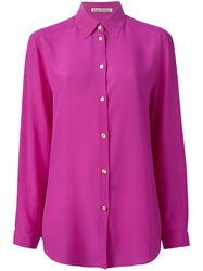 Acne Studios 'Clio' Shirt Pink And Purple