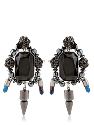 Assad Mounser Rex Earrings Navy