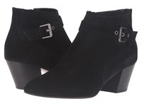 Aquatalia By Marvin K Fawn Black Suede Women's Boots