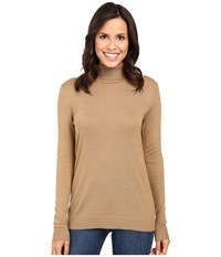 Pendleton Timeless Turtleneck Camel Women's Clothing Tan