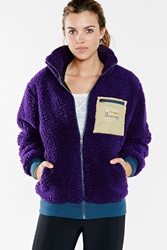 Manastash Shaggy Jacket Purple