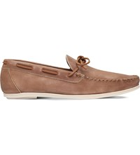 Kg By Kurt Geiger Paul Leather Loafers Tan