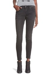 Junior Women's Vigoss Skinny Jeans Black