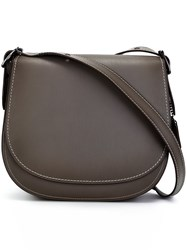 Coach Large Saddle Bag Grey