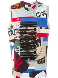 Ktz Printed Tank Top Multicolour