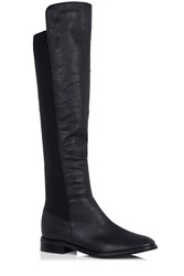 Oasis Bree Leather Boot Black