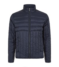 Sandro Lightweight Down Jacket Male Blue