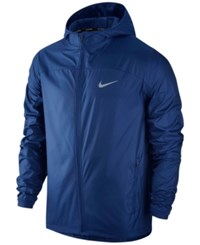 Nike Men's Shield Running Jacket Royal Blue