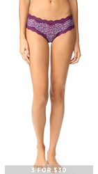 Calvin Klein Underwear Micro Lace Cheeky Hipster Shifting Layered Geo