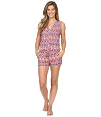 Pj Salvage Island Vibes Sleep Romper Multi Women's Jumpsuit And Rompers One Piece
