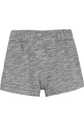 Rag And Bone Pajama Cotton Terry Shorts Gray