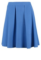 United Colors Of Benetton Pleated Skirt Blue