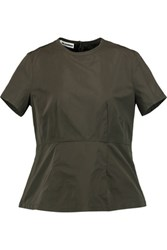 Jil Sander Shell Top Army Green