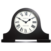 Newgate Clocks Mantelpiece Clock Black