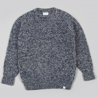 Norse Projects Ralf Twisted Yarn Knit Navy