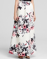 Parker Black Skirt Lenore Floral Print Ball