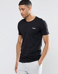 Diesel Crew Neck T Shirt In Regular Fit Black