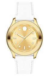 Movado Women's 'Bold' Silicone Strap Watch 38Mm
