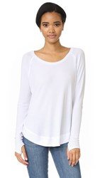 Feel The Piece Sabel Long Sleeve Tee White