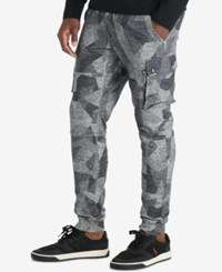 Polo Ralph Lauren Sport Men's Loopback Terry Cargo Pants Grey Multi Heather