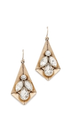 Juliet And Company Mira Earrings Gold Clear