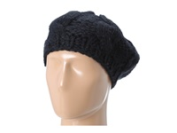 San Diego Hat Company Knh3228 Cable Knit Beret Black Berets