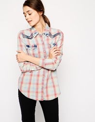 Blank Nyc Plaid Shirt Cherrylips