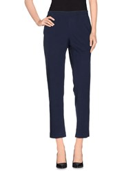 6397 Trousers Casual Trousers Women Dark Blue