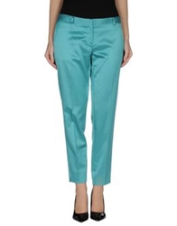 New York Industrie Casual Pants Turquoise