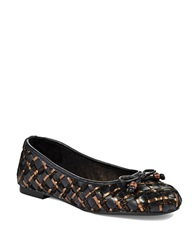 Elliott Lucca Sofia Flats Black Copper