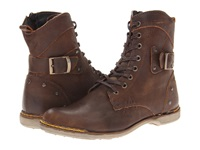 Type Z Timmy Brown Leather Men's Lace Up Boots