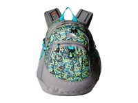 High Sierra Fat Boy Backpack Electric Geo Charcoal Tropic Teal Backpack Bags Gray