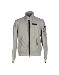313 Tre Uno Tre Coats And Jackets Down Jackets Men Grey