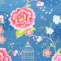 Pip Studio Birds In Paradise Wallpaper 313015 Blue