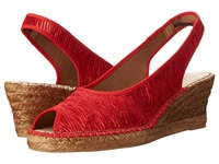 Spring Step Jeanette Red Women's Wedge Shoes