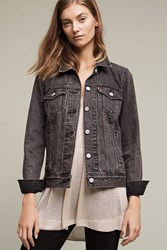 Anthropologie Levi's Boyfriend Denim Jacket Black