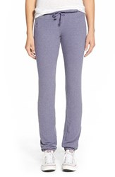 Wildfox Couture Women's Wildfox 'Basics Malibu' Skinny Jogging Pants Smokey Grape