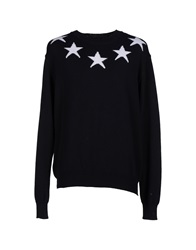 Have A Nice Day Sweaters Dark Blue