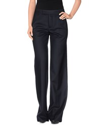 Strenesse Trousers Casual Trousers Women Dark Blue