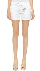 Pure Dkny Relaxed Shorts White