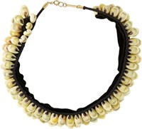 Isabel Marant Seashell Necklace Colorless