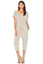 Fine By Superfine Wing Jumpsuit Gray
