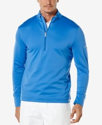 Callaway Men's Thermal Quarter Zip Shirt Palace Blu